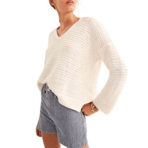 Madewell Breezeway Pullover Sweater